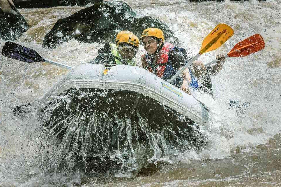 Rafting Magelang sungai progo bawah alternatif selain sungai progo atas arung jeram progo hulu sungai elo